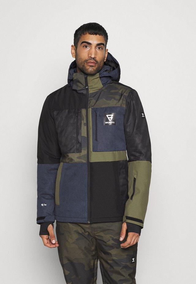 ARACIN PATCHWORK MENS SNOWJACKET - Snowboard jacket - space blue