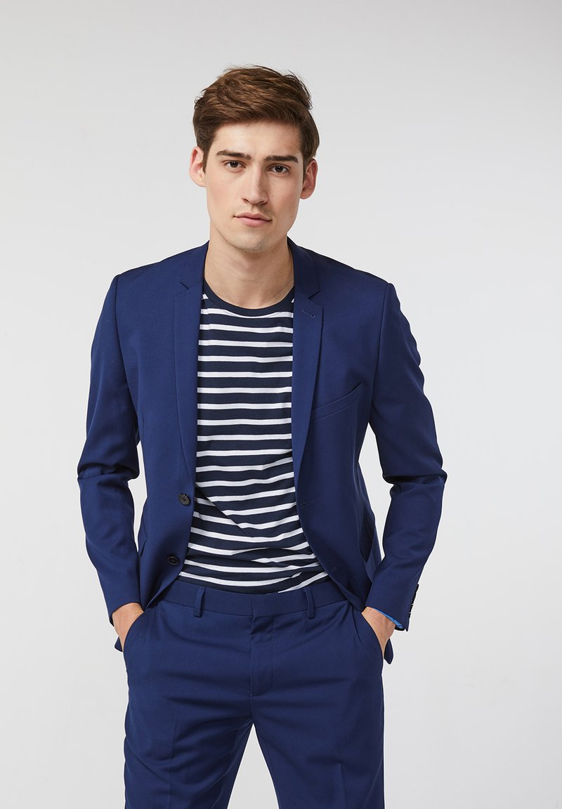 WE Fashion - DALI - Kavaj - blue