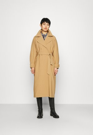 SILVIA  - Trenchcoat - tigers eye
