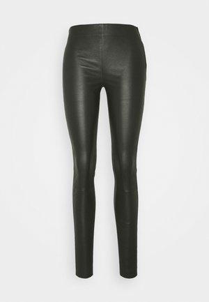 SFSYLVIA STRETCH - Pantaloni di pelle - rosin