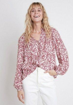 Button-down blouse - ecru
