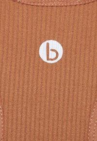 Cotton On Body - SEAMLESS HALTER RACER BACK TANK - Top - cashew - 7