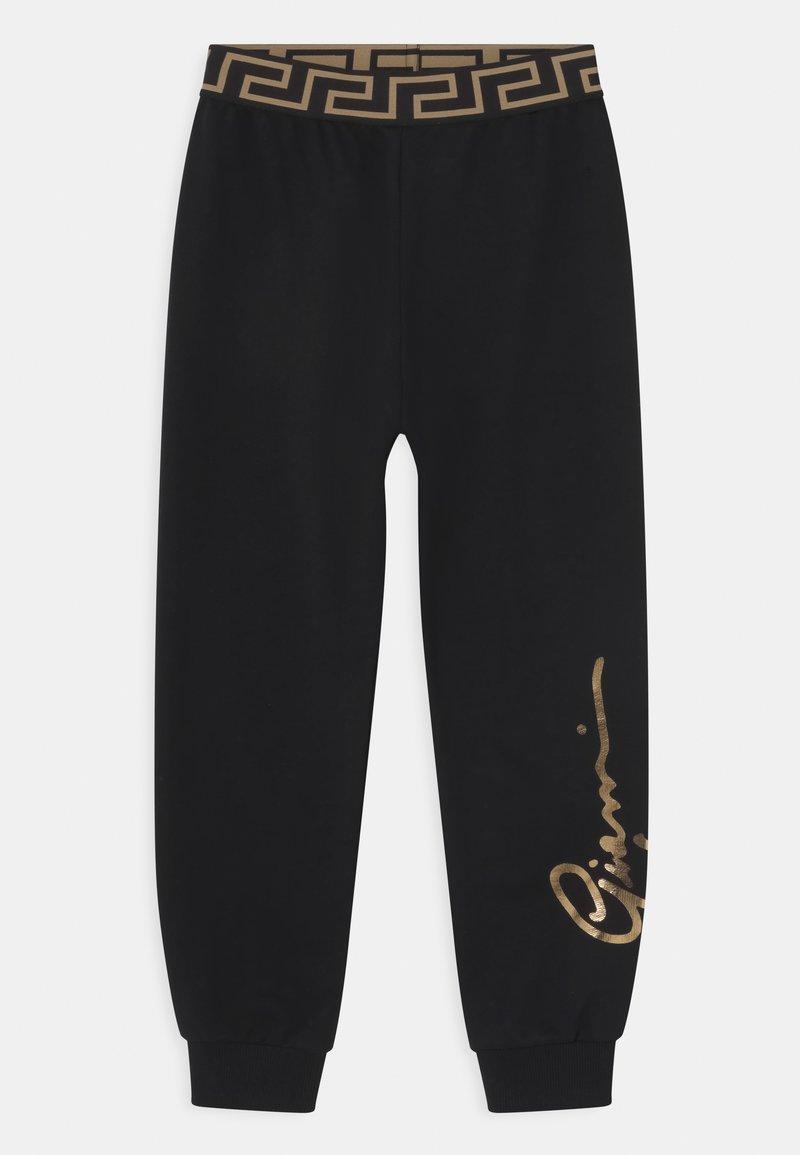 Versace - SIGNATURE UNISEX - Teplákové kalhoty - black/gold