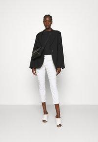 Mos Mosh - VALERINE PANT - Trousers - white - 1
