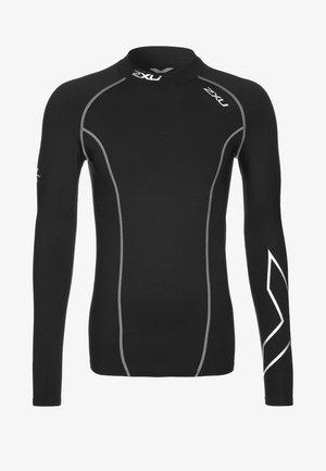 THERMAL LONGSLEEVE COMPRESSION TOP - Undershirt - black