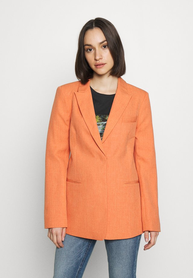 CLEAN HIGH BREAK - Blazer - apricot