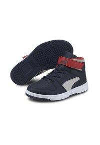 Puma - Chaussures de skate - peacoat gray violet h r red - 2