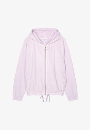 Zip-up sweatshirt - pastel lilac
