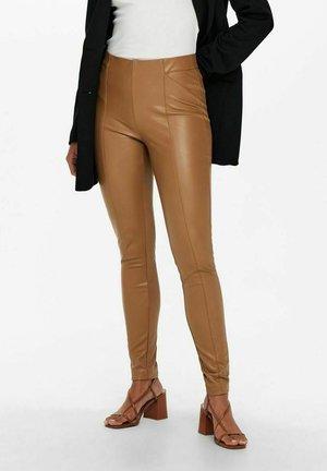 ONLJESSIE - Leggings - Trousers - toasted coconut