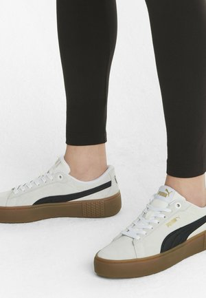 Trainers - puma white-puma black-gum