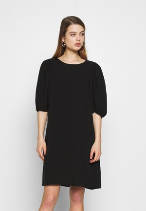 SOFT GRUNGE DRESS - Vapaa-ajan mekko - black