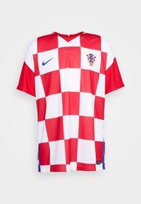 Nike Performance - KROATIEN CRO - Vereinsmannschaften - white/university red/bright blue - 4