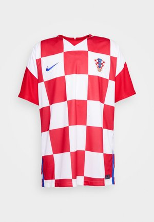 KROATIEN CRO - Article de supporter - white/university red/bright blue