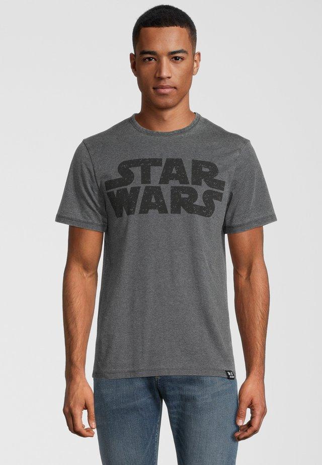 STAR WARS - T-shirt med print - dunkelgrau