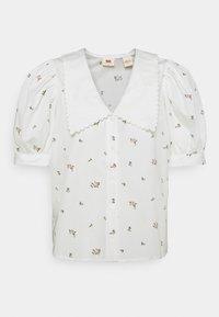 Levi's® - ROYCE COLLAR BLOUSE - T-shirts print - sadie/cloud dancer - 0
