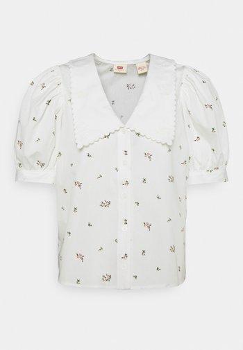 ROYCE COLLAR BLOUSE - T-shirts print - sadie/cloud dancer