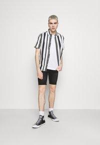 Newport Bay Sailing Club - Denim shorts - washed black - 1