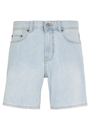 Denim-Short aus 100% Baumwolle - Shorts di jeans - blue bleached