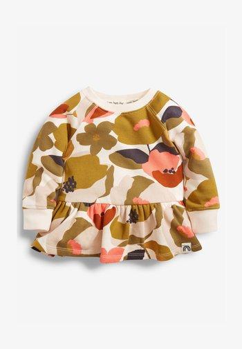 SOFT TOUCH - Zip-up sweatshirt - red