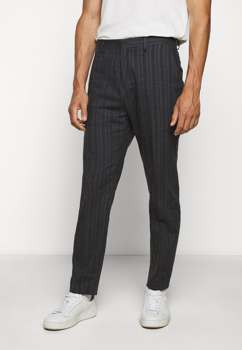 Tiger of Sweden - CONE - Trousers - outer blue