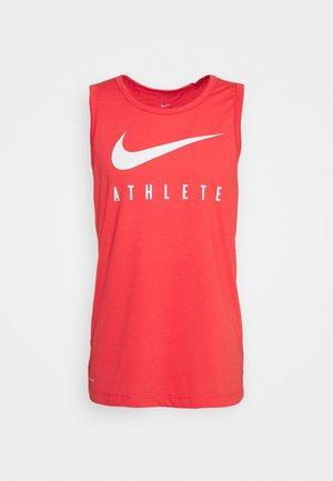 TANK ATHLETE - Treningsskjorter - track red