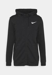 Nike Performance - Sudadera con cremallera - black/white - 0