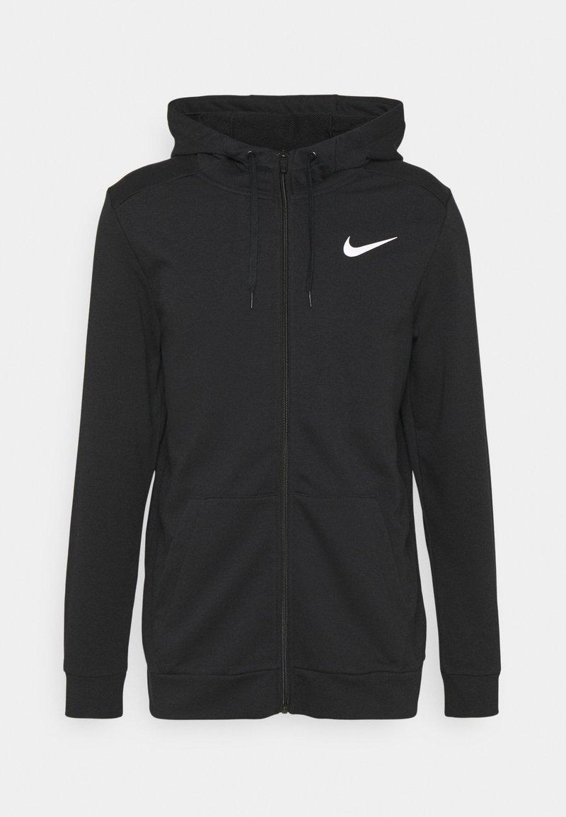 Nike Performance - Sudadera con cremallera - black/white