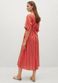 Mango - Vestido camisero - rot - 1