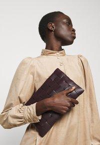 Marc Cain - Shirt dress - brown - 3