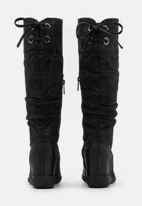 mtng - KONG - Wedge boots - karma black - 3