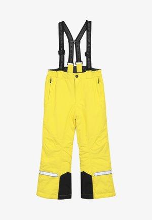 PLATON 709 SKI PANTS - Spodnie narciarskie - yellow