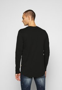 G-Star - LOGO GRAPHIC  - Long sleeved top - black - 2