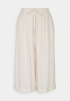SLFTESSI RELAXED PANT PETITE - Trousers - sandshell