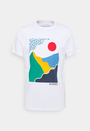 SLOPER  MEN - Print T-shirt - white