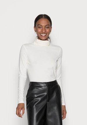 LONGSLEEVE ROLLNECK - T-shirt à manches longues - off white
