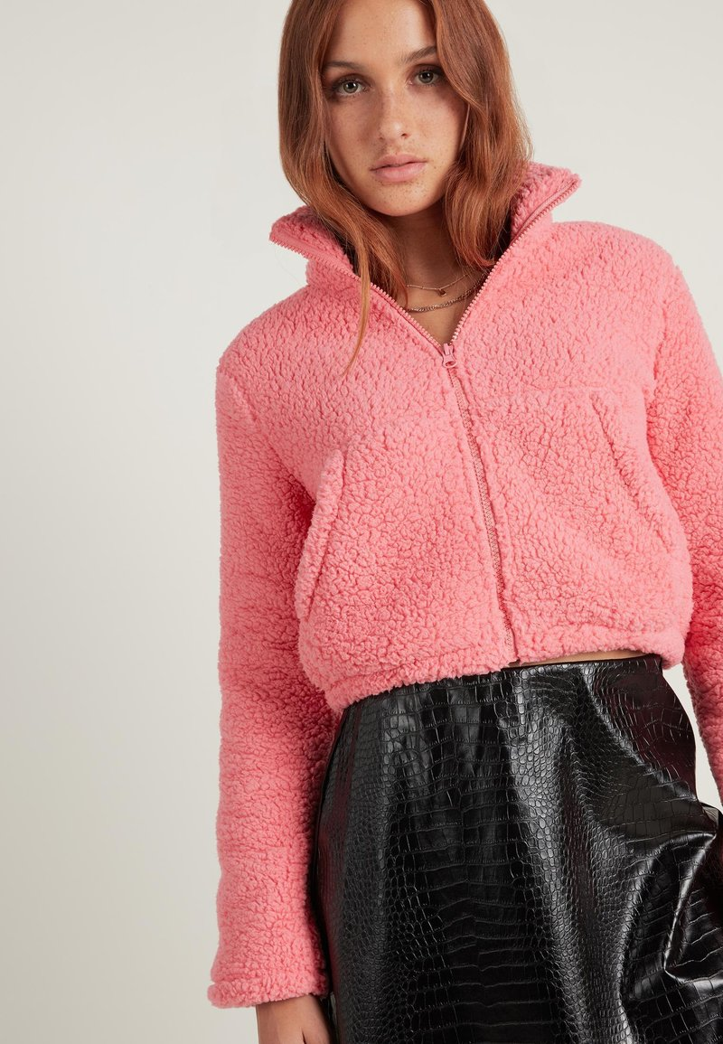 Tezenis - Fleece jacket - rosa - u - candy pink
