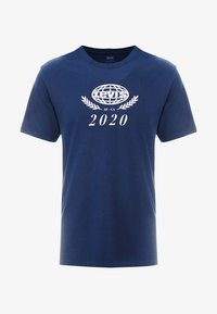 Levi's® - RELAXED GRAPHIC TEE - T-shirts print - crest dress blues - 4