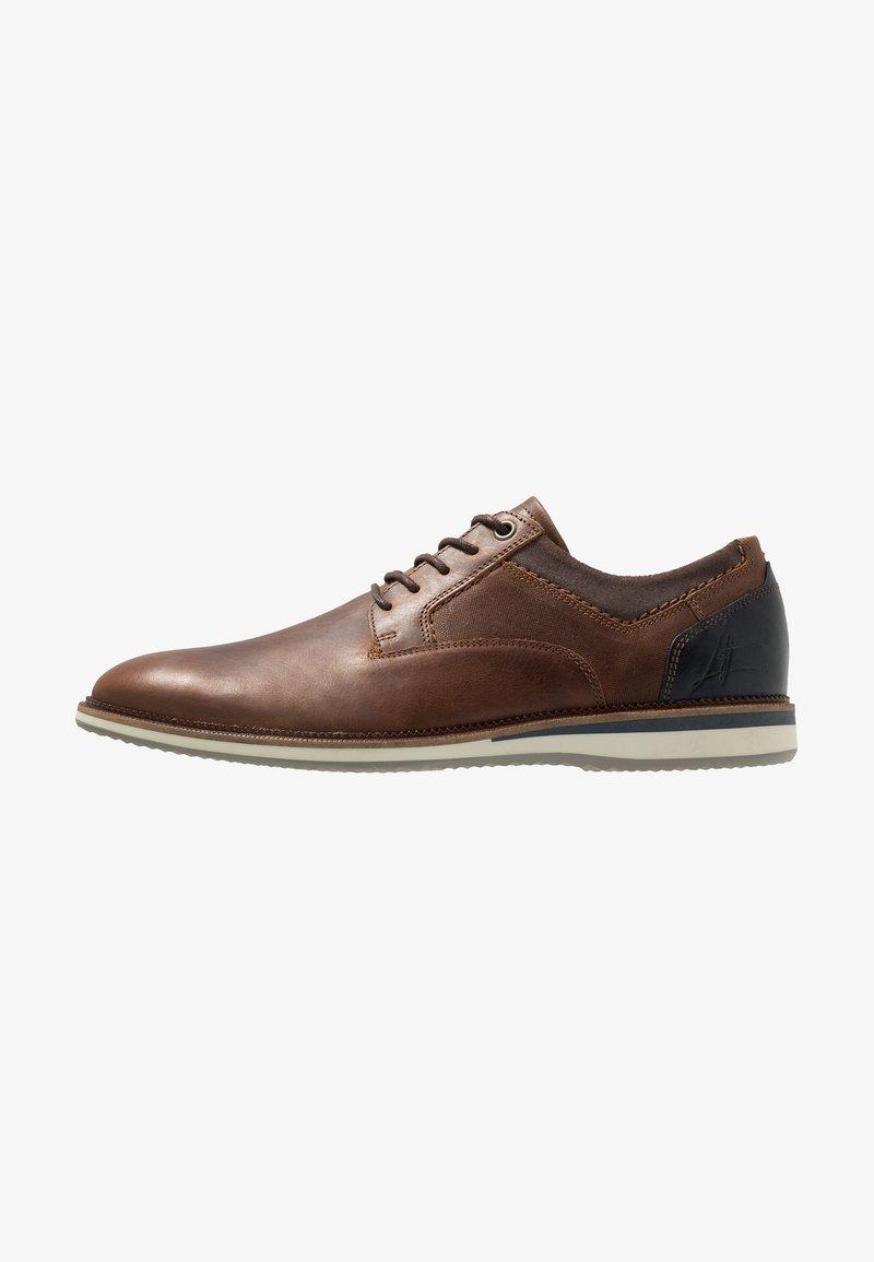 Bullboxer - Sznurowane obuwie sportowe - brown