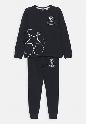 NKMUEFA IVOR PARK - Pyjama set - dark sapphire