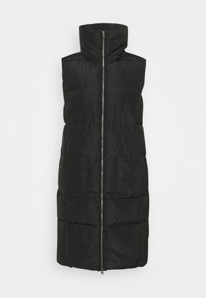 NINA - Waistcoat - black