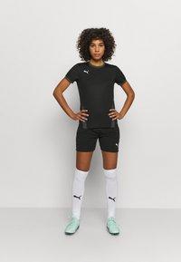 Puma - TEAM GOAL  - Treningsskjorter - black/asphalt - 1
