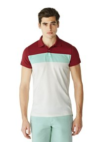 McGregor - Polo shirt - white mint red - 0