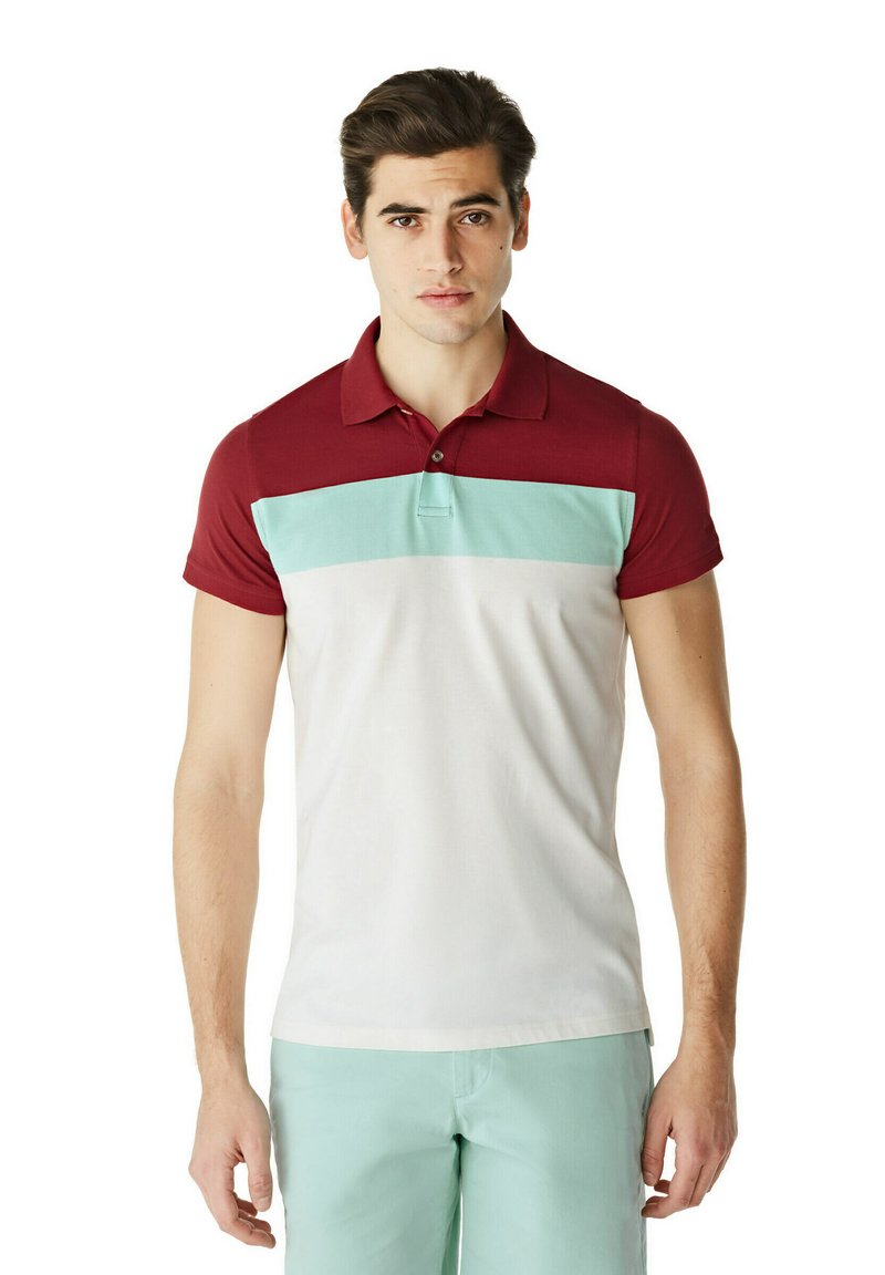 McGregor - Polo shirt - white mint red