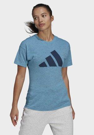 WIN 2.0 PRIMEGREEN - Print T-shirt - blue