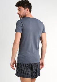 Sloggi - 24/7 O-NECK 2 PACK - Undershirt - stormy grey - 2