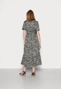 Anna Field - WOVEN BLOUSE DRESS - Sukienka koszulowa - black/white - 2