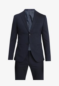 Isaac Dewhirst - BASIC PLAIN SUIT SLIM FIT - Traje - navy - 11