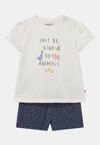 Staccato - SET - Print T-shirt - off-white/dark blue - 0