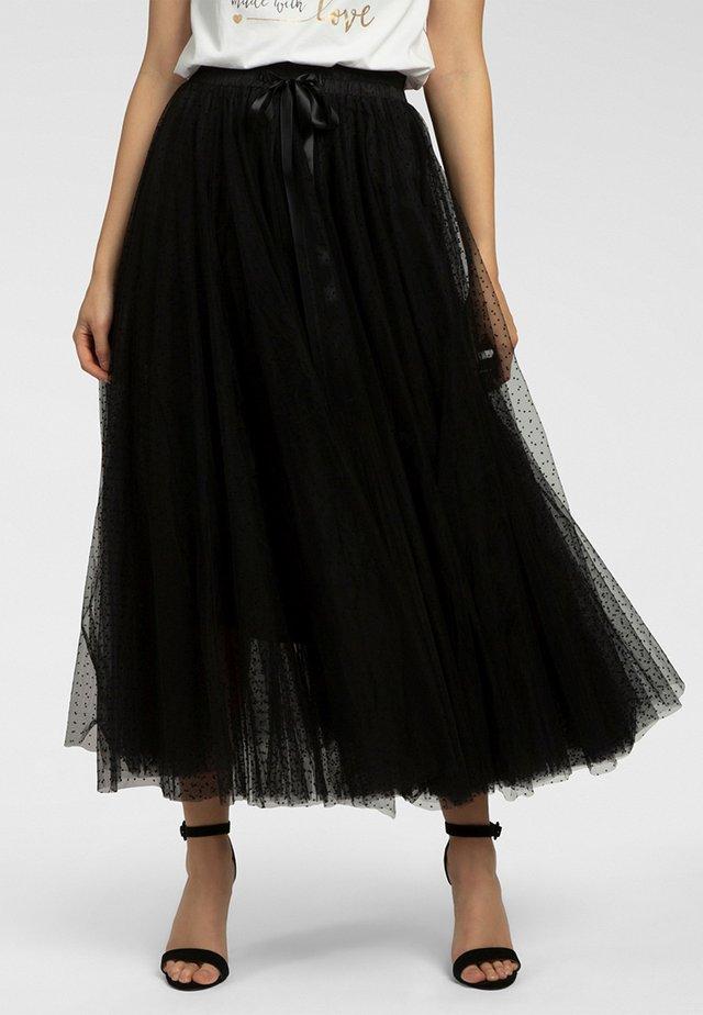 Jupe longue - black / black