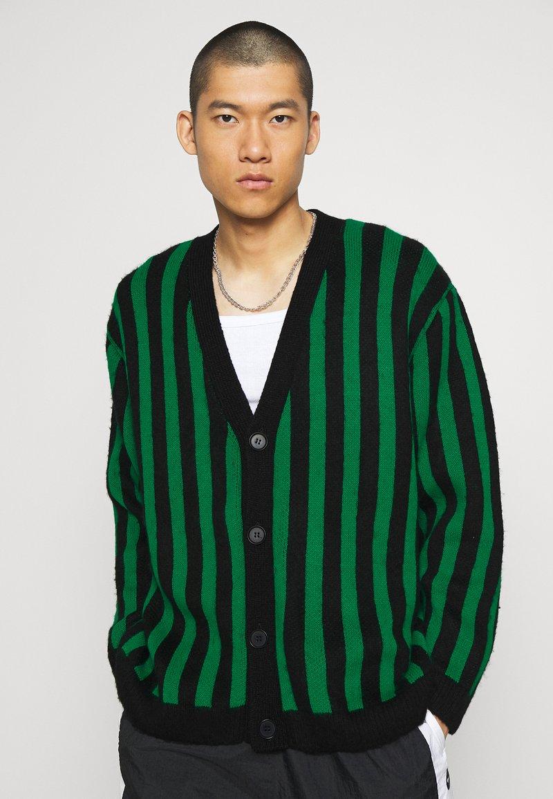Mennace - VERTICAL - Cardigan - green